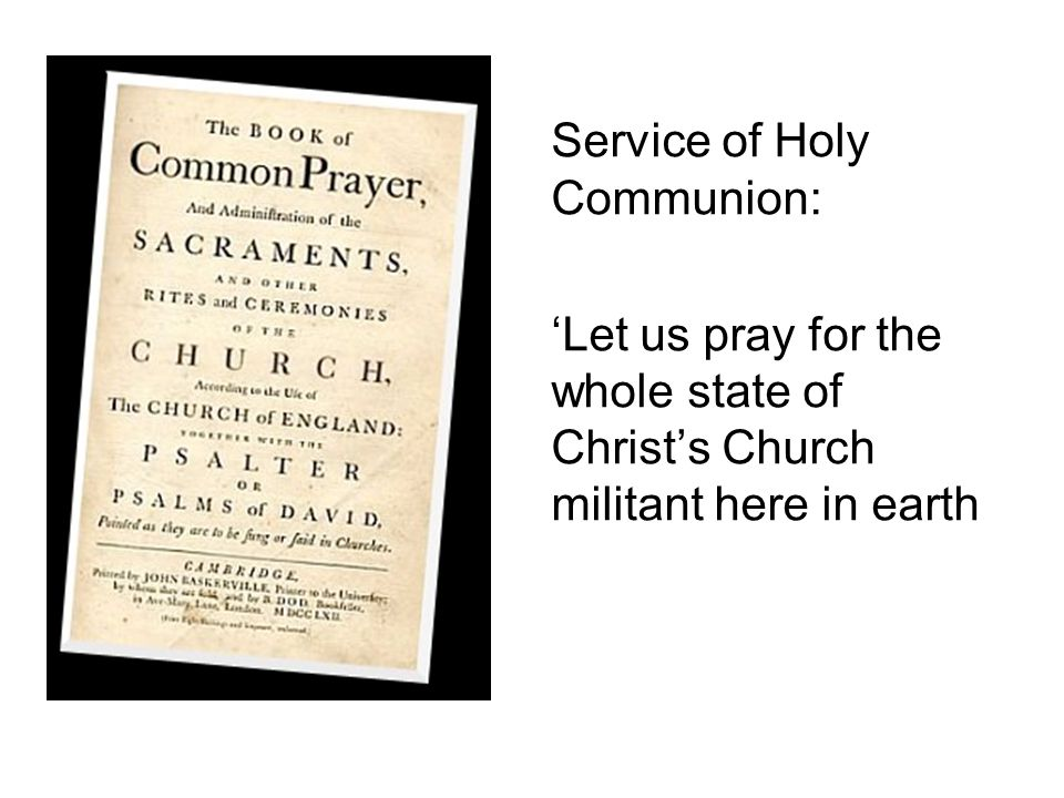 Service of Holy Communion: