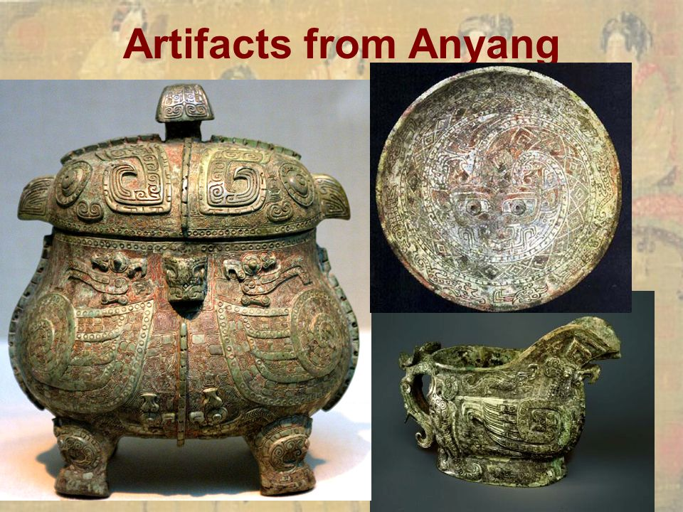 Artifacts from Anyang
