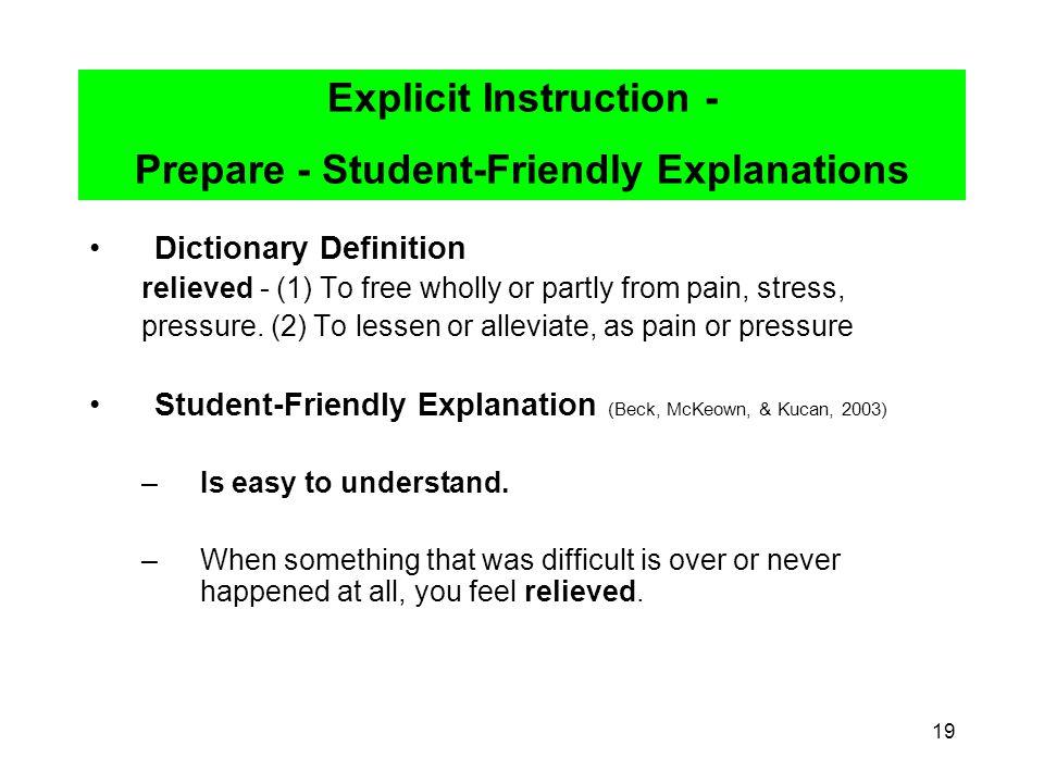 Explicit instruction. Ppt video online download.