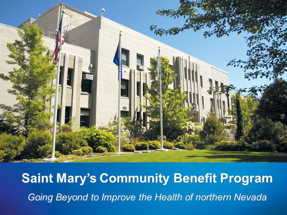 Saint Mary's Community Benefit Program