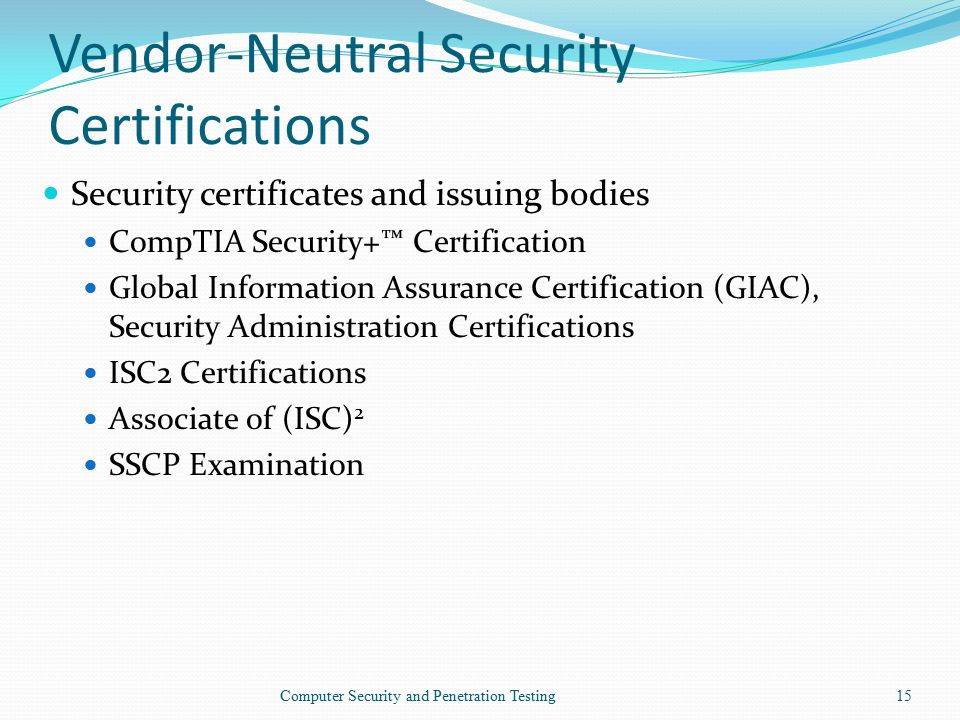 Computer Security and Penetration Testing - ppt video online download