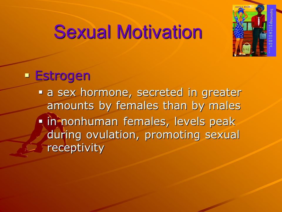 Sexual Motivation Estrogen
