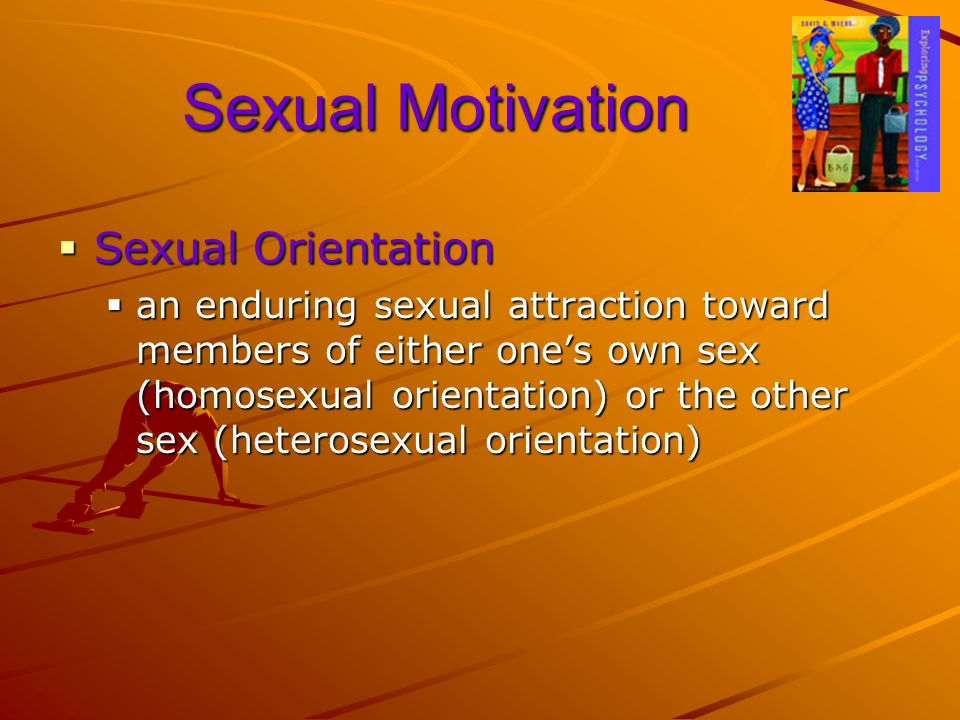 Sexual Motivation Sexual Orientation