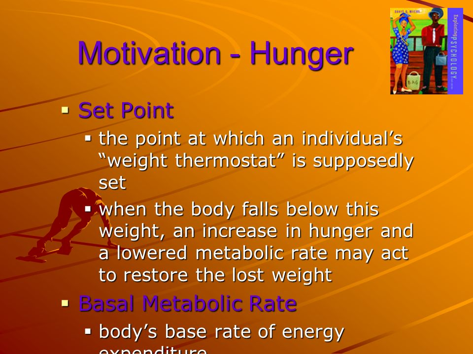 Motivation - Hunger Set Point Basal Metabolic Rate