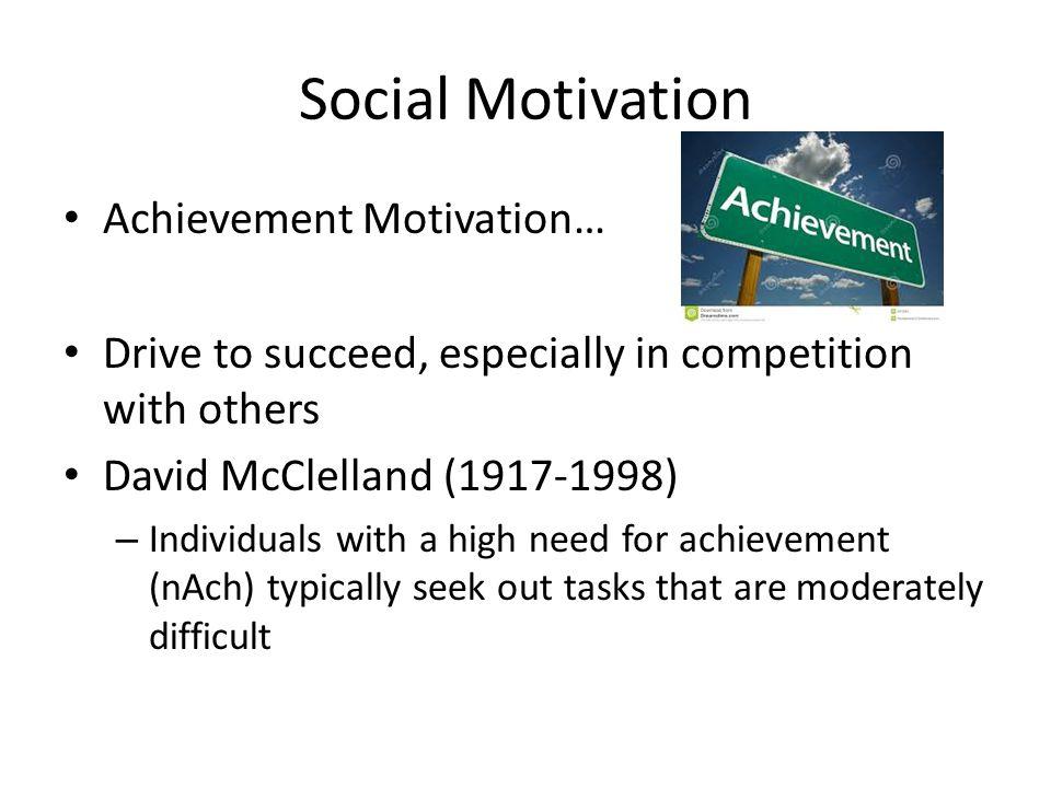 social motivation