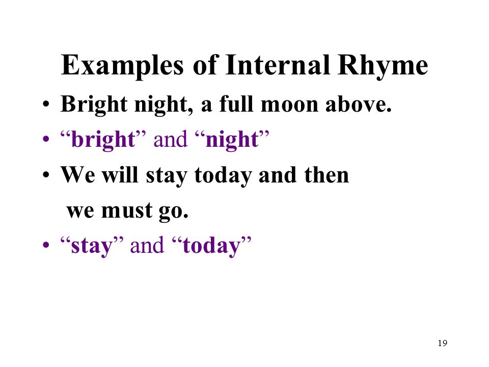 Slant rhyme definition and examples | litcharts.