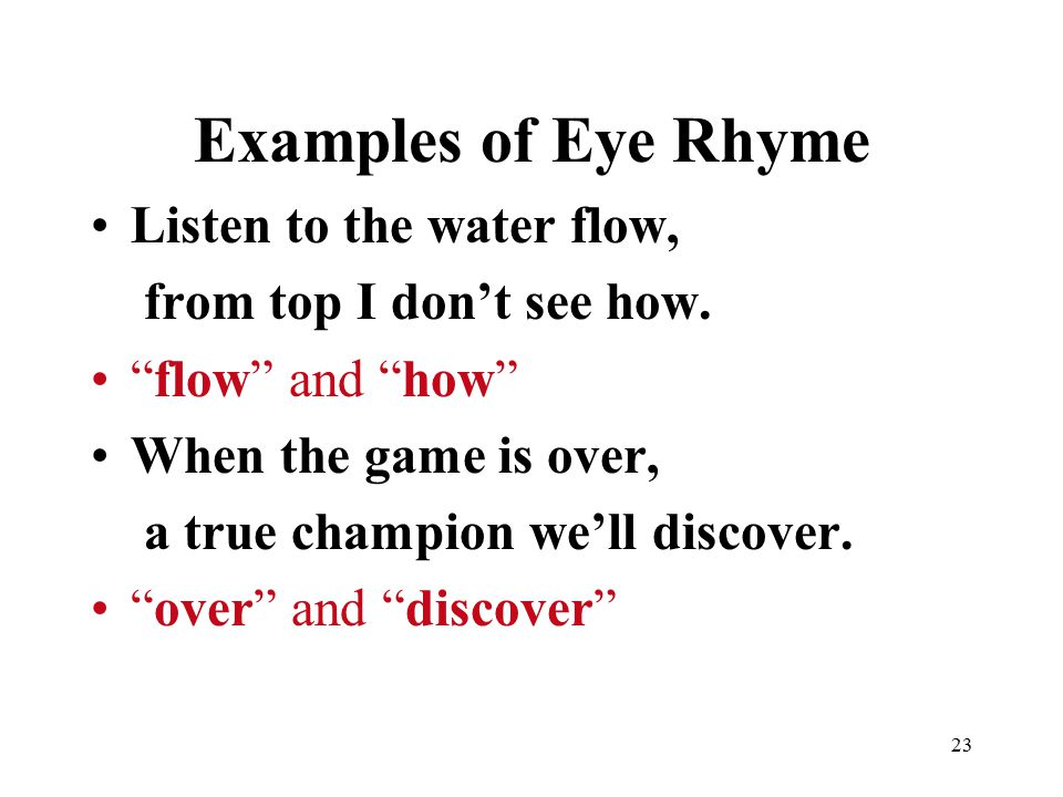 Example Of Rhyme Gallery Example Cover Letter For Resume