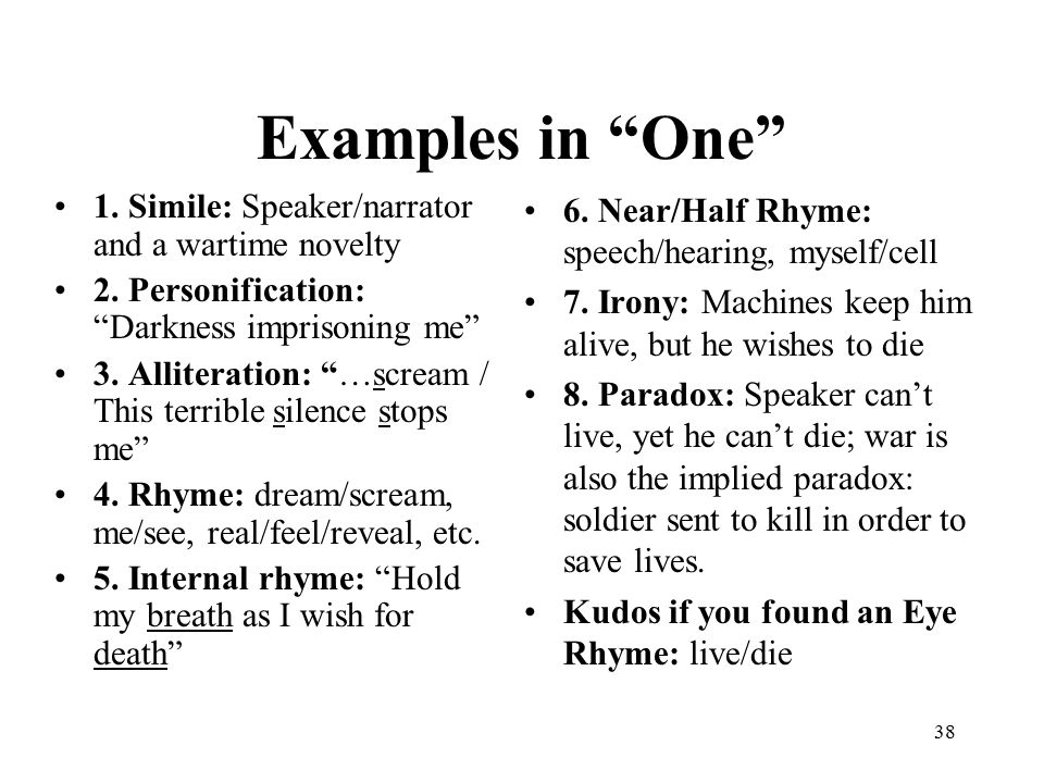 an analysis of the use of metaphors in poems So for the beginners amongst us, let's start with the observation that some poems are one single metaphor all the way through, and others use a variety of different metaphors to.
