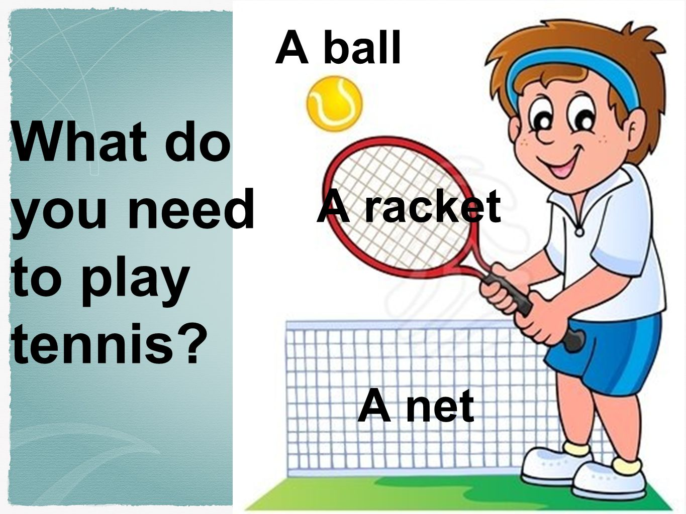 What do You Need for Tennis