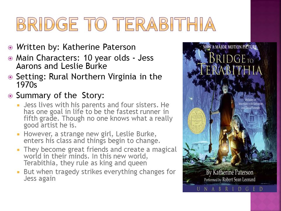 bridge to terabithia book summary short