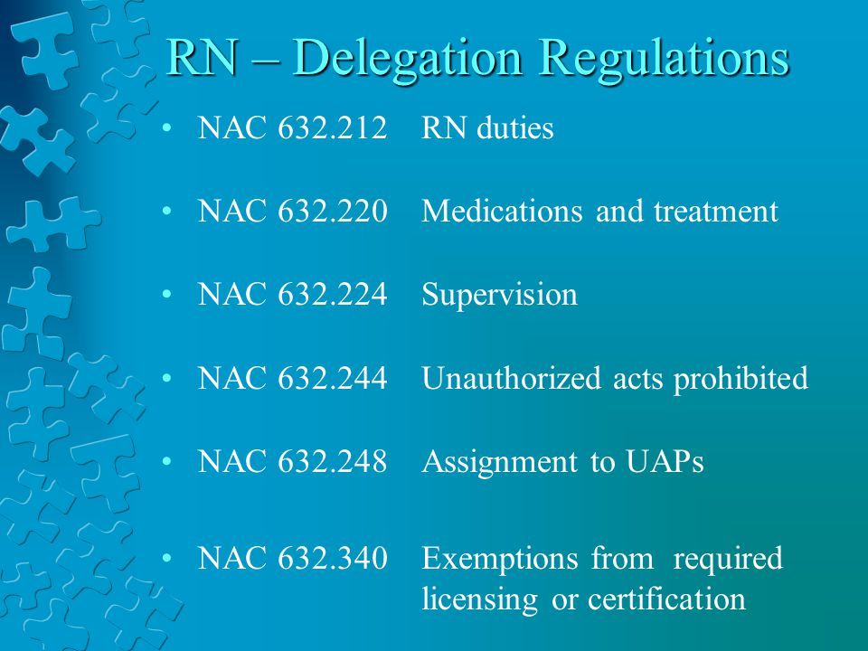 The Nevada Nurse Practice Act And Delegation Ppt Video Online Download