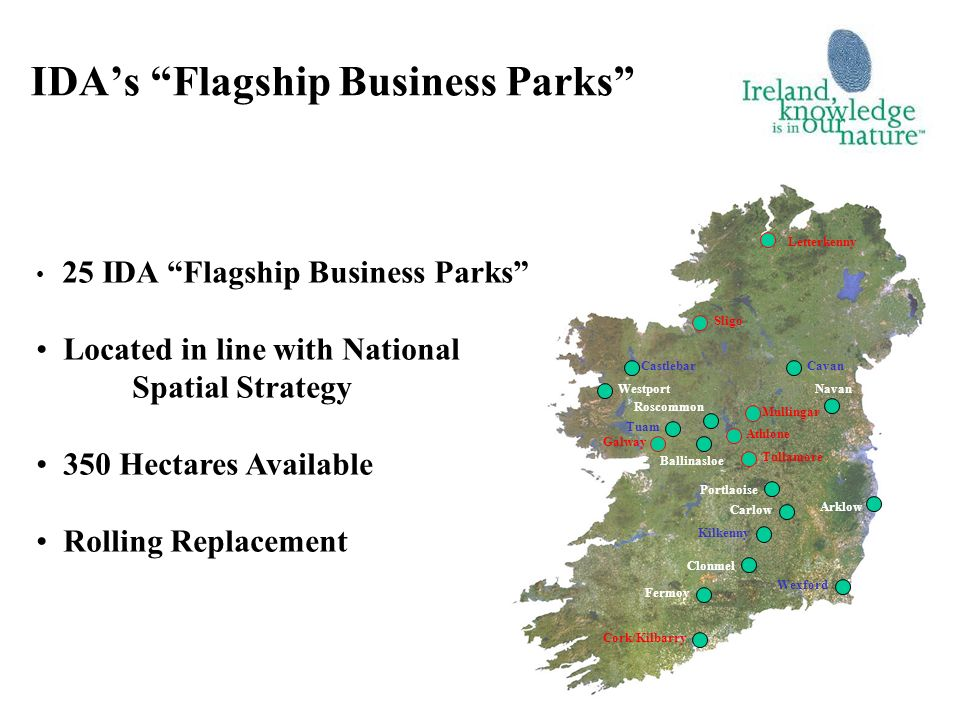 IDA's Flagship Business Parks