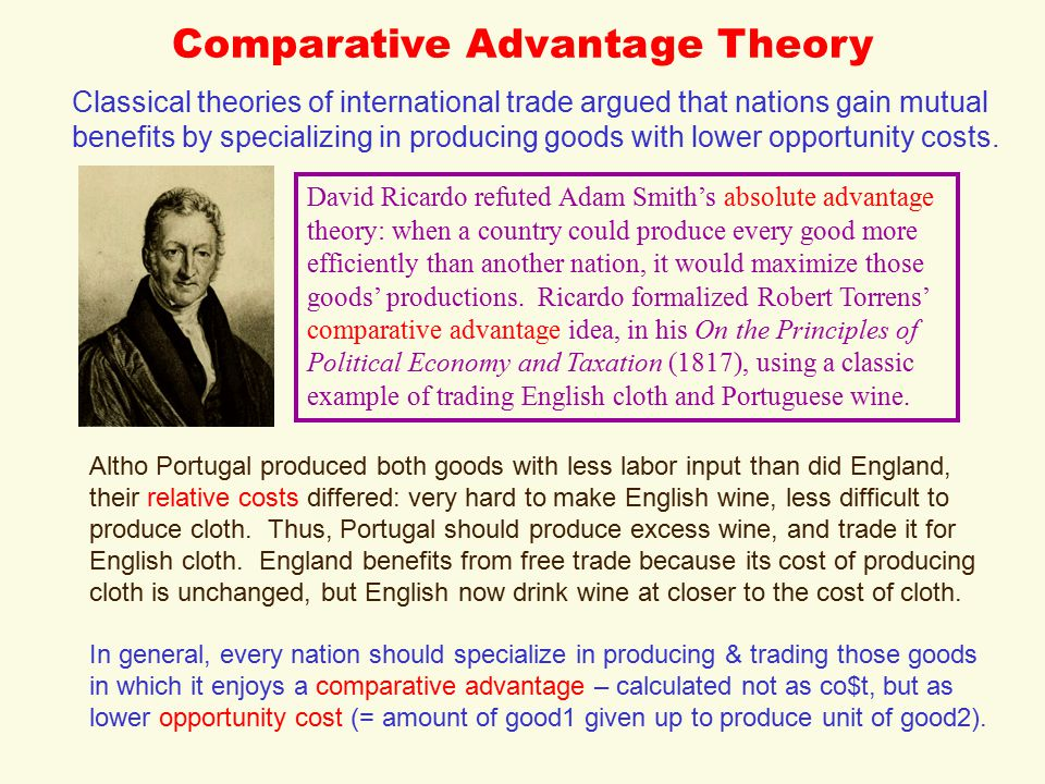 example of classical theory
