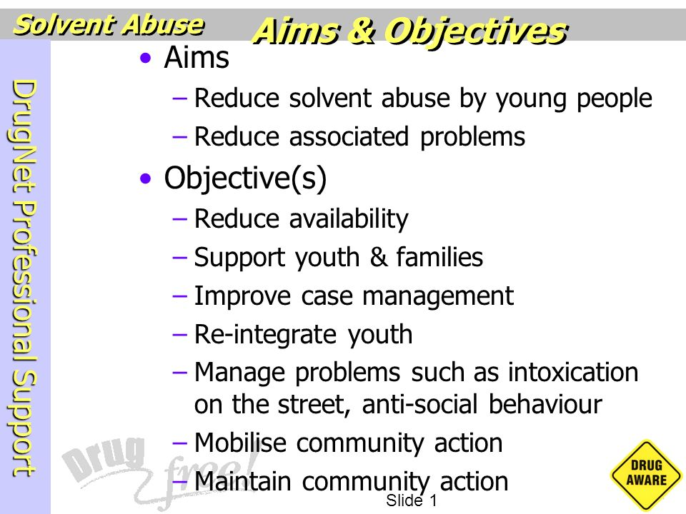 Aims & Objectives Aims Objective(s)
