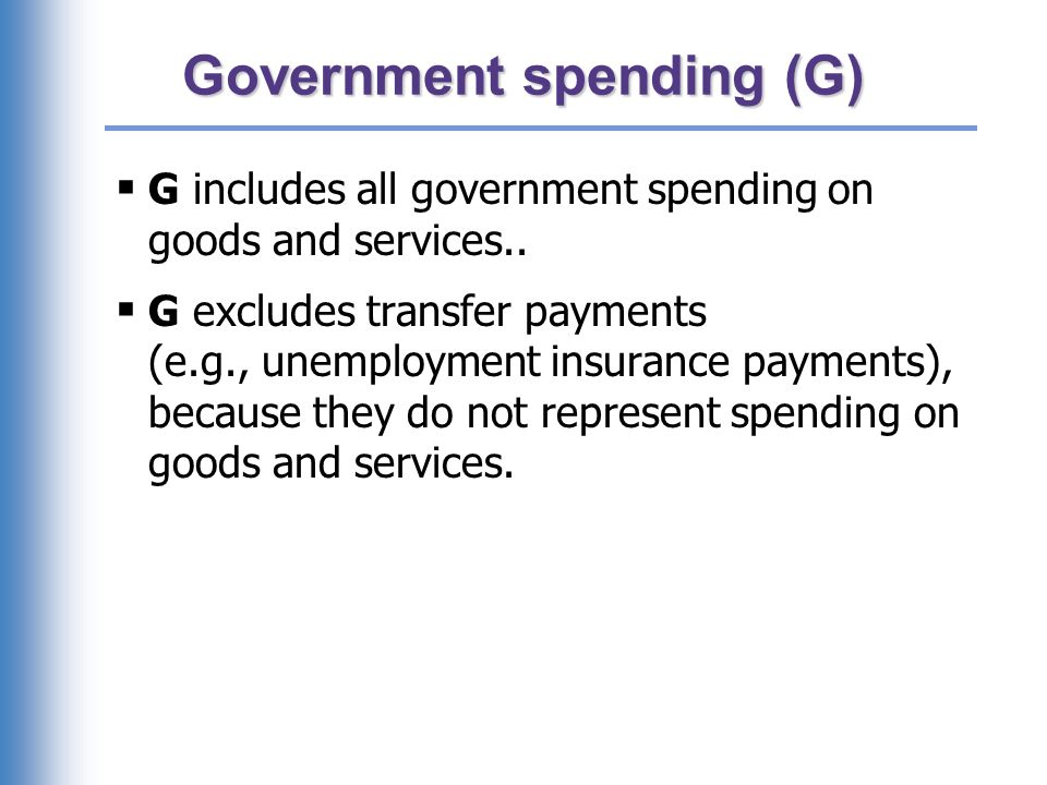 U.S. government spending, 2007 (Q3)