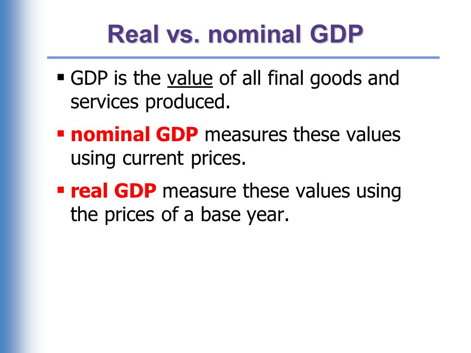 Practice problem, part 1 Compute nominal GDP in each year.