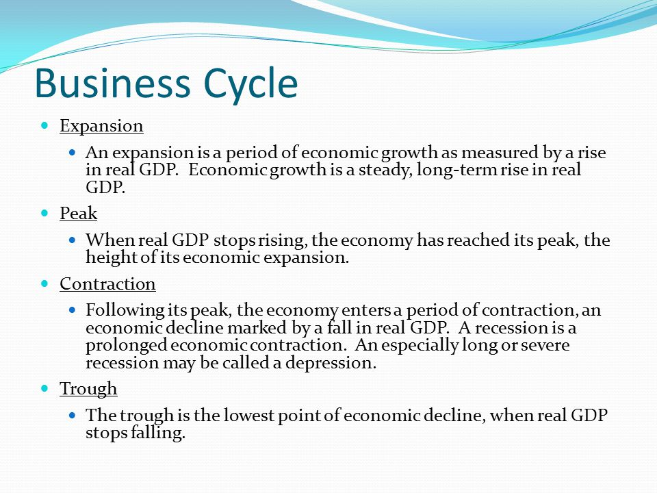 Business Cycle Expansion