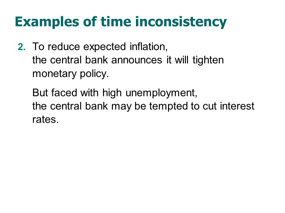 Monetary policy rules Advocated by monetarists.