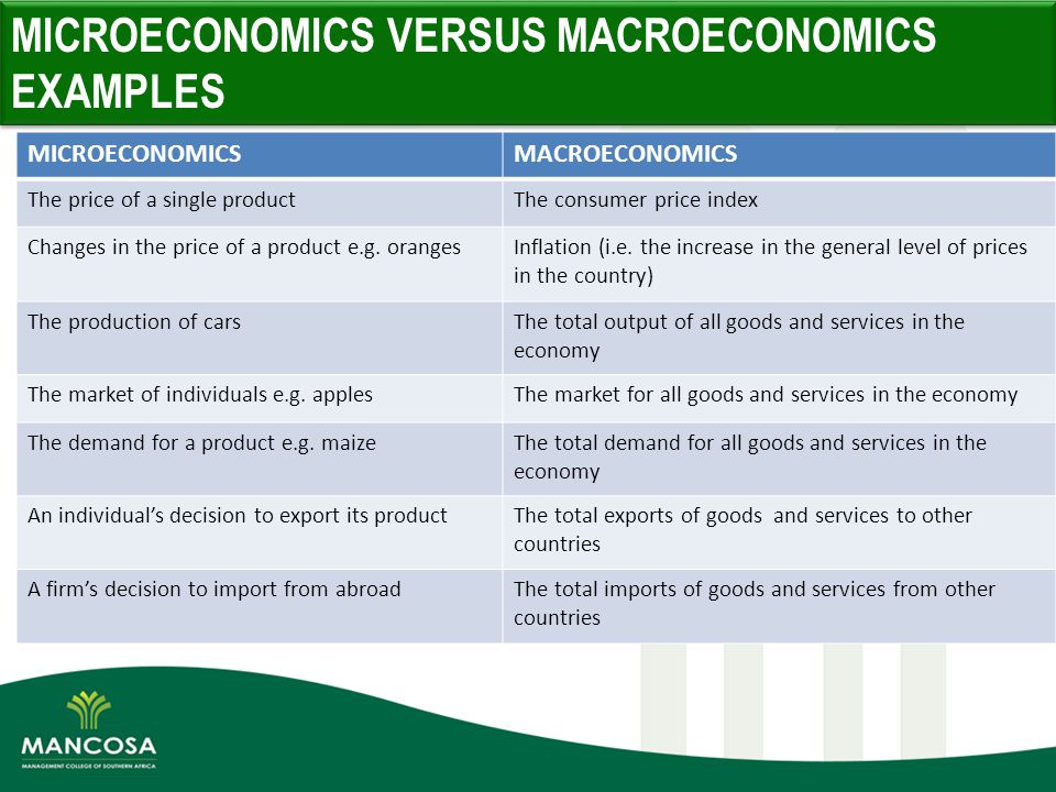 Example Of Microeconomics Image Collections Example Cover Letter