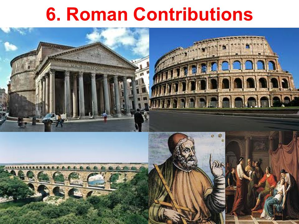 roman contributions to literature