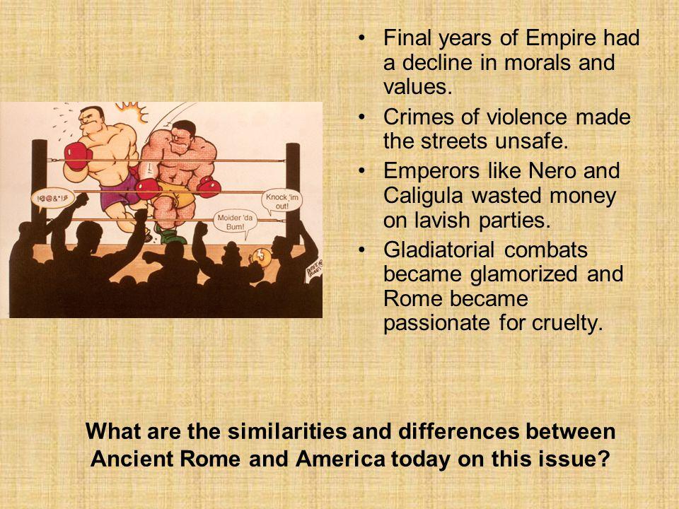 rome and america similarities