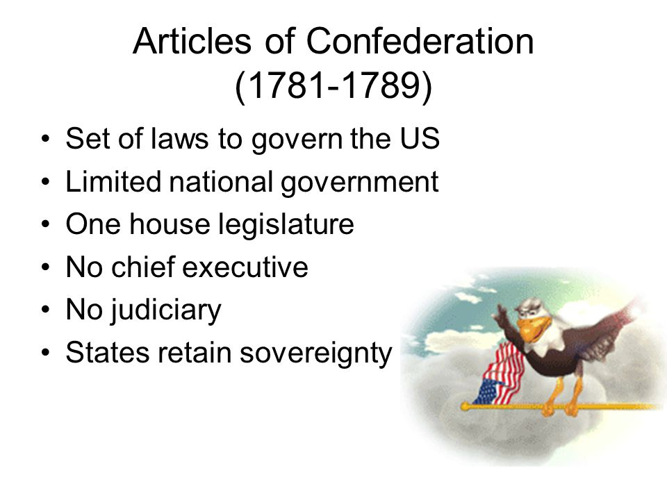 government during years 1781 to 1789 essay Using the information that you brainstormed in class write only your conclusion to the essay on your assessment that the articles were effective during the years 1781-1789.
