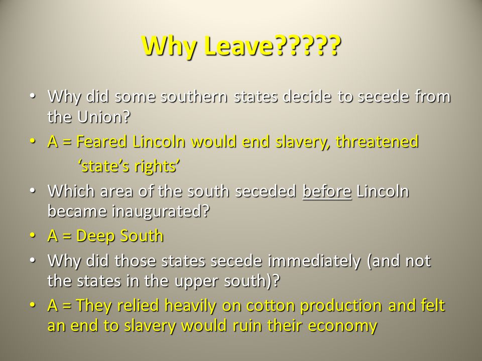 lincoln and position on slavery Lincoln and douglas had similar ideas about the superiority of the white race, but differing ideas about slavery lincoln always thought slavery was morally wrong, if slavery is not wrong, nothing is wrong in the debates douglas compares slaves to a harvest of farm products he is quick to.