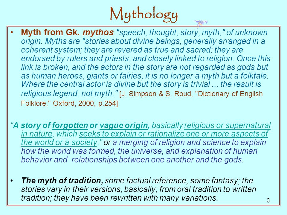 Mythology Origins Meaning Relevance Today Ppt Download