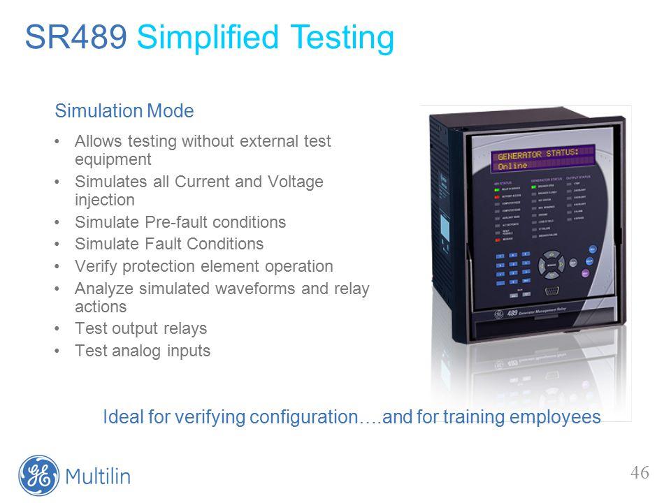 SR489 Generator Management Relay - ppt video online download
