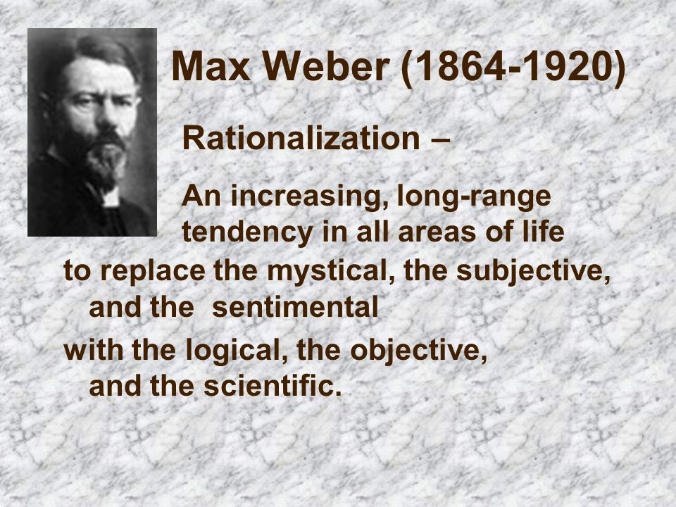 Max Weber Studied The Characteristics Of Modern Life Ppt Video