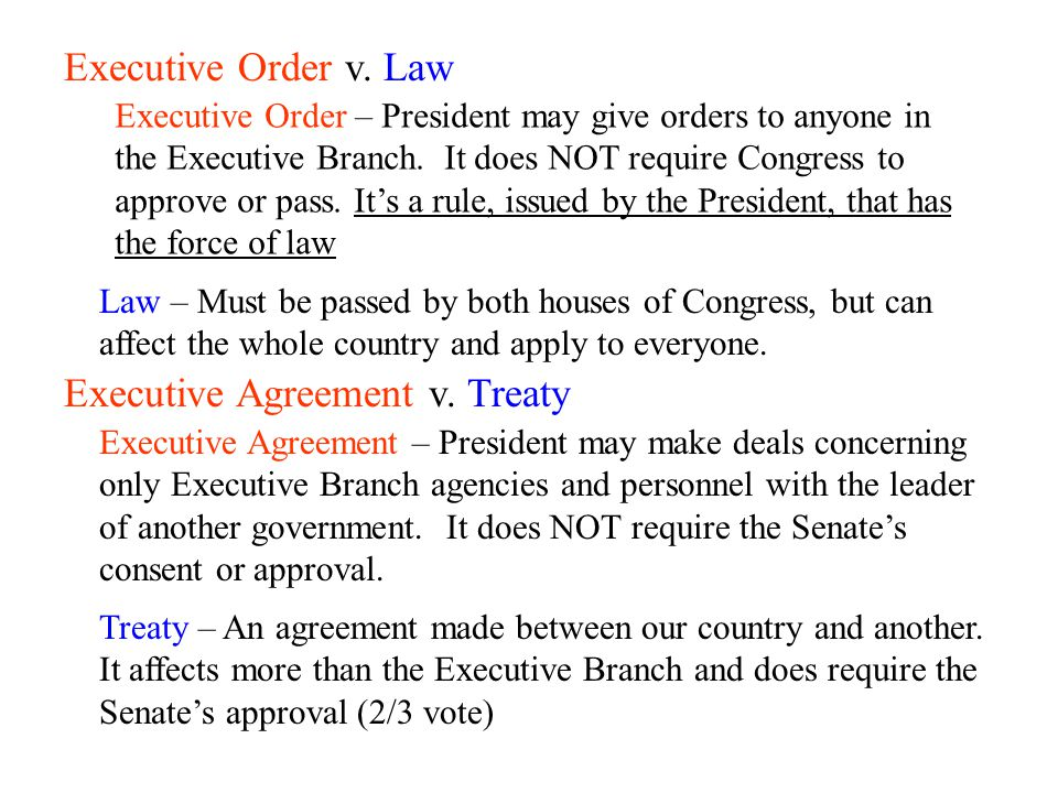 The Executive Branch Ppt Video Online Download