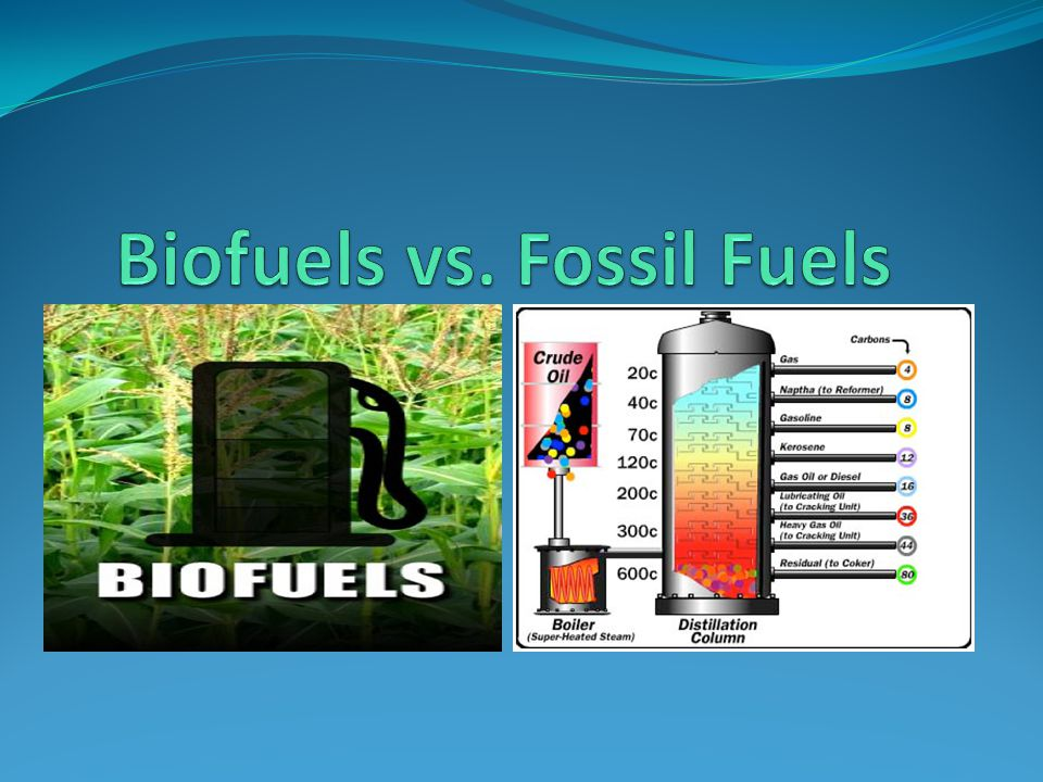 Biofuels vs. Fossil Fuels