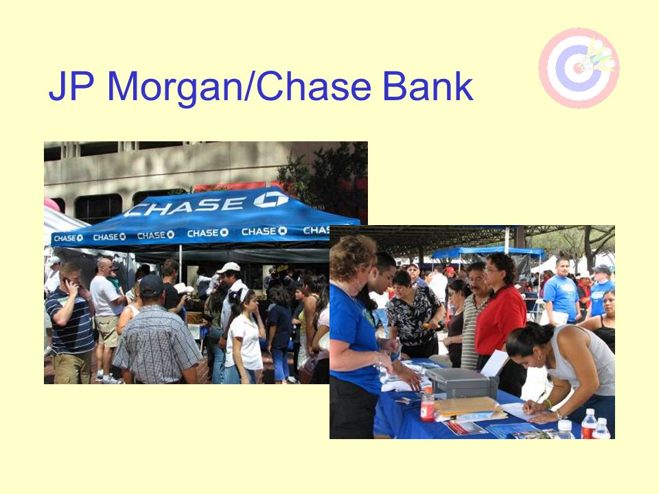 JP Morgan/Chase Bank