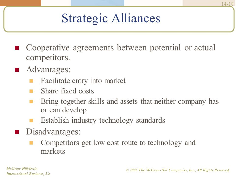 Entry Strategy And Strategic Alliances Ppt Video Online Download
