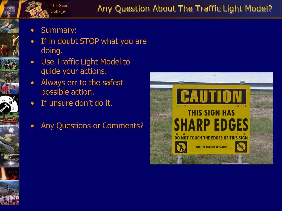 Any Question About The Traffic Light Model