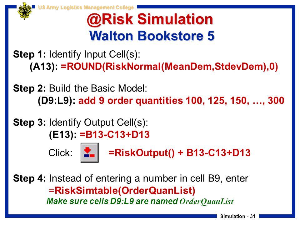 Part 1: Simulation Modeling - ppt download