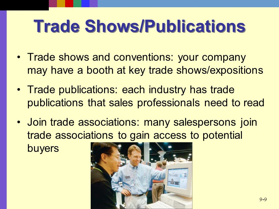 Trade Shows/Publications