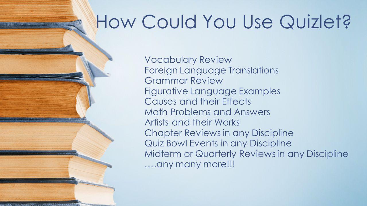 Grammar terms quizlet