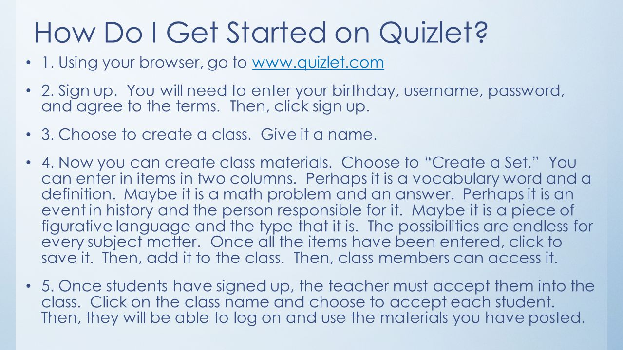 """Quizlet and Padlet: """"Let""""ting Technology Live in the Classroom - ppt"""