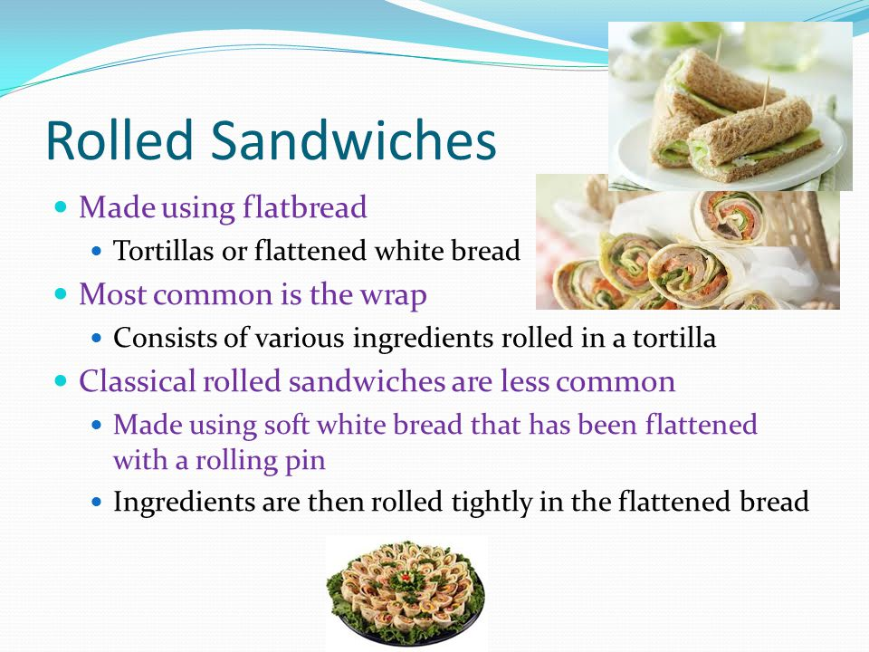 Cold Sandwiches Chapter 22 Pages Ppt Video Online Download