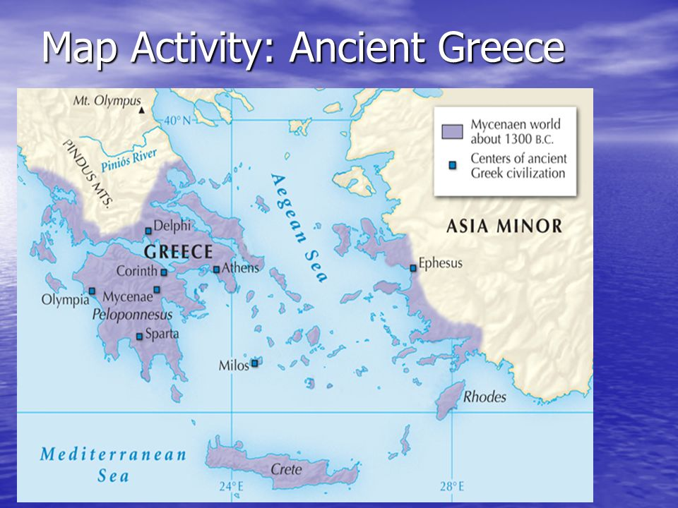 Early People Of The Aegean Ppt Download