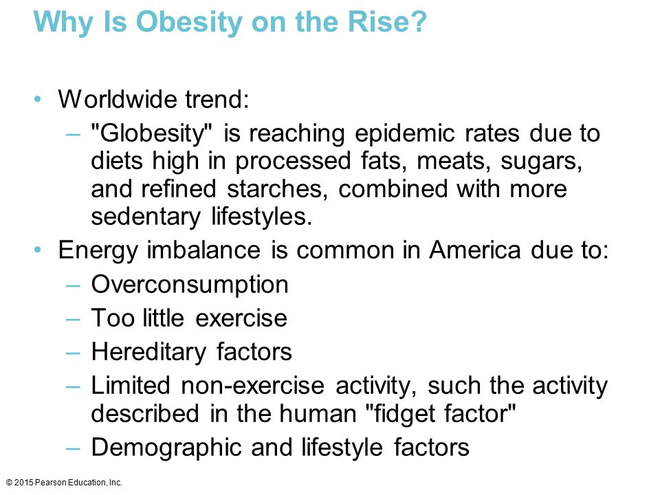 Why Is Obesity on the Rise