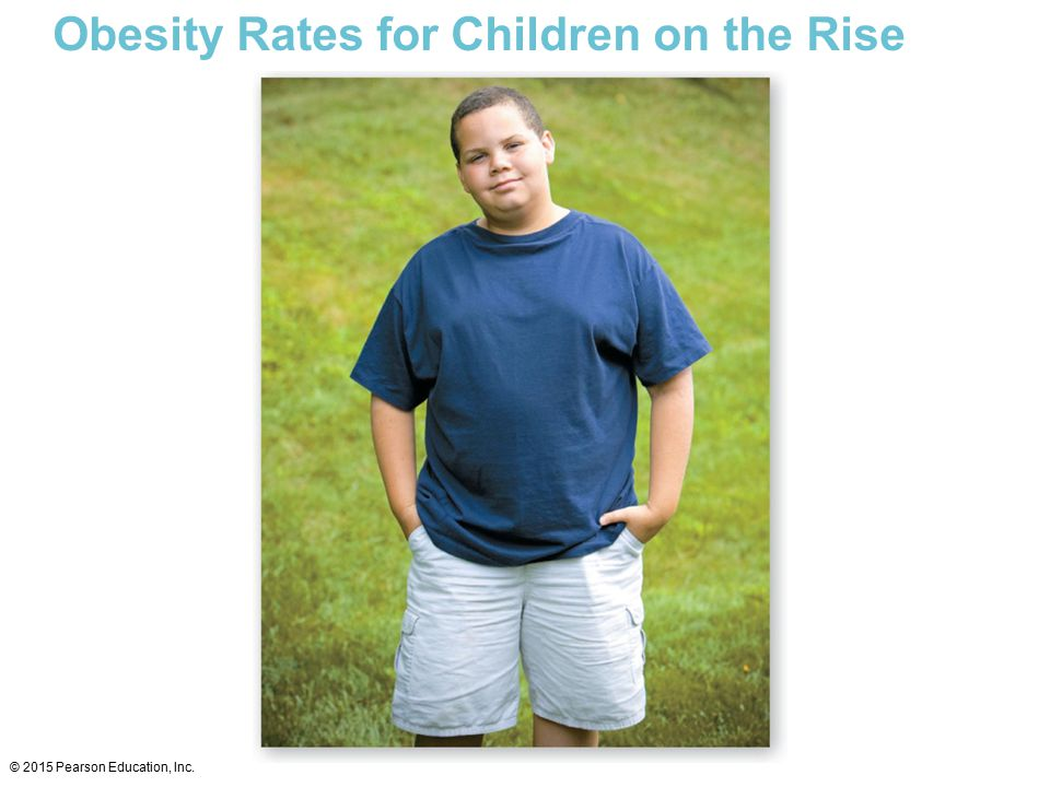 Obesity Rates for Children on the Rise