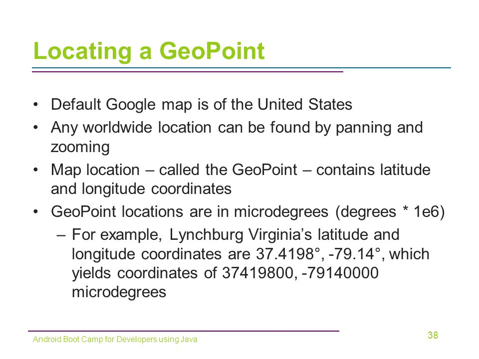 Chapter 11: Discover! Incorporating Google Maps - ppt download on