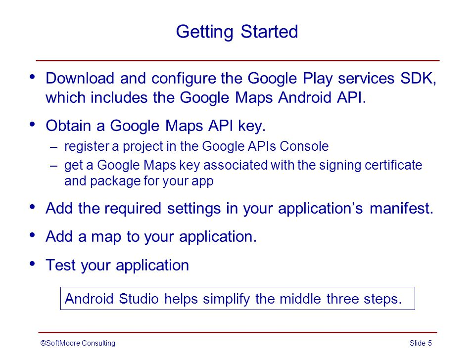 Location-Based Services: Part 2 (Google Maps) - ppt download