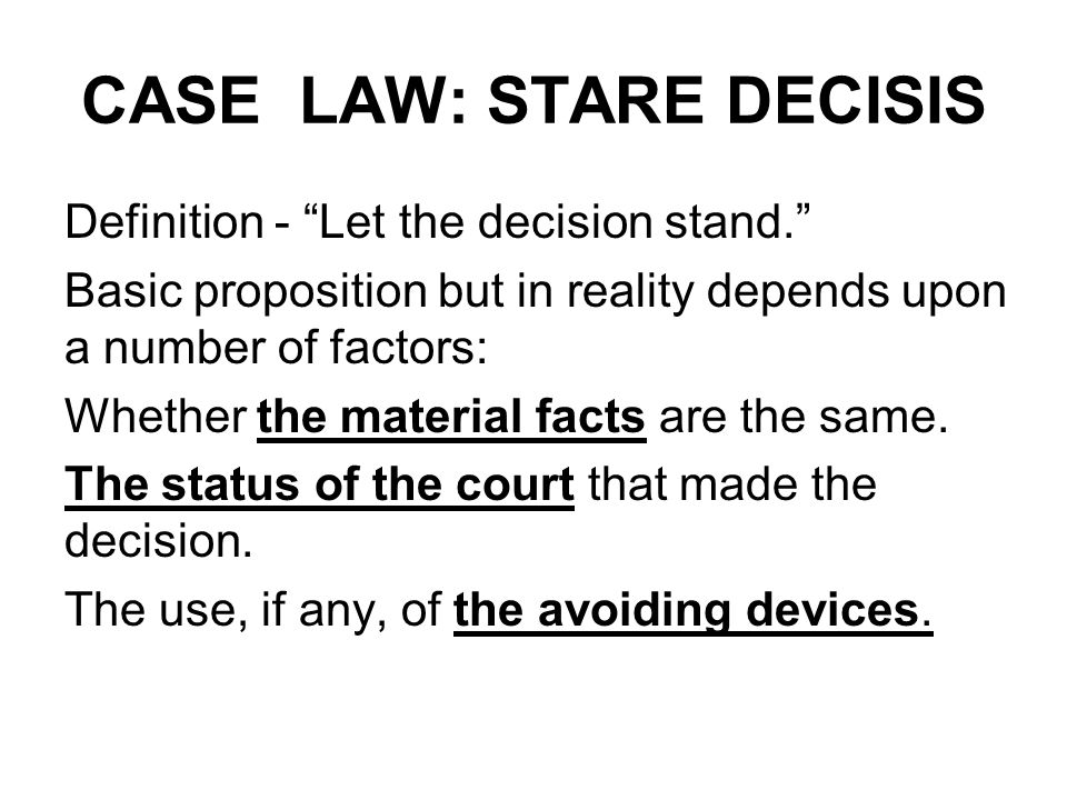 lawcase Case law definition is - law established by judicial decision in cases how to use case law in a sentence law established by judicial decision in cases law that is based on decisions that judges have made in past cases.
