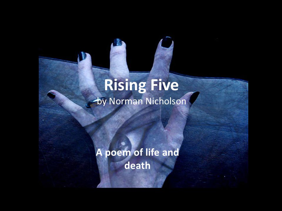 Rising Five by Norman Nicholson