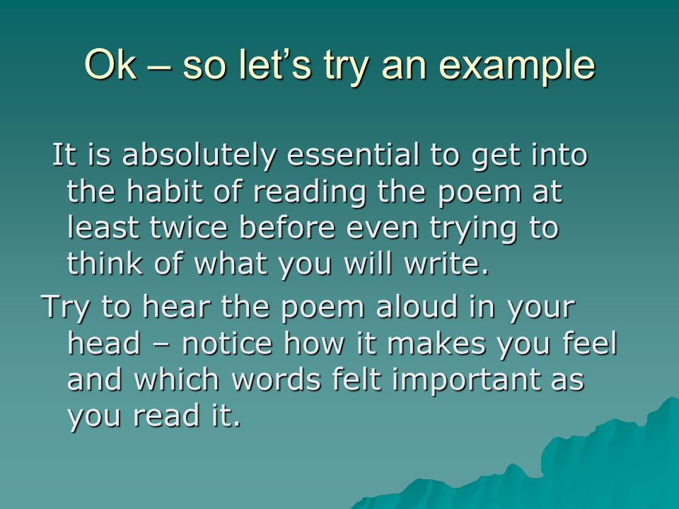 """Genuine Poetry Can Communicate Before It Is Understood"