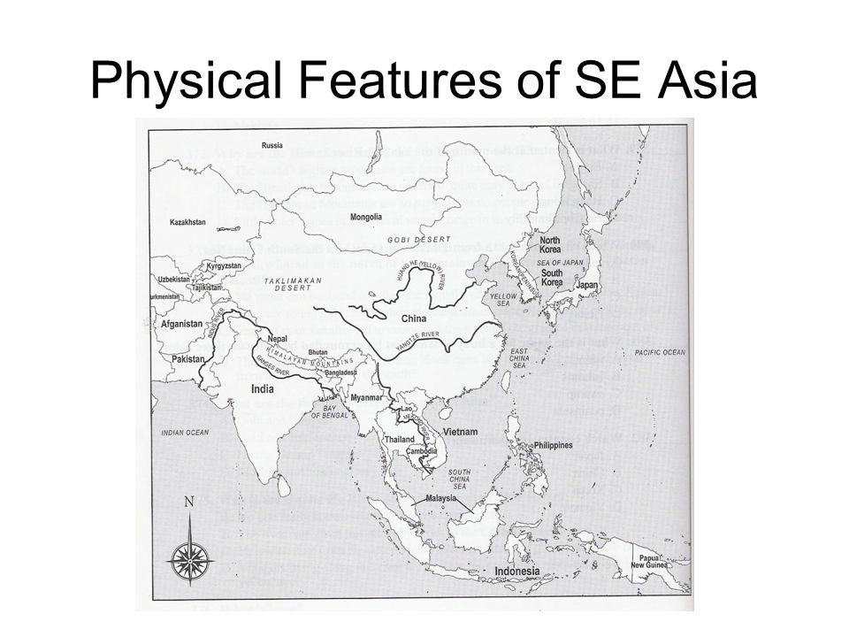 Physical Features of SE Asia