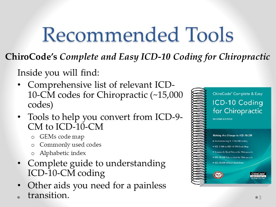 ICD-10 Boot Camp On Behalf of: Oklahoma Chiropractors Association